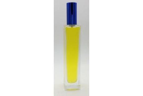 Frasco alto rellenable 50 ml con pulverizador incluido Azul