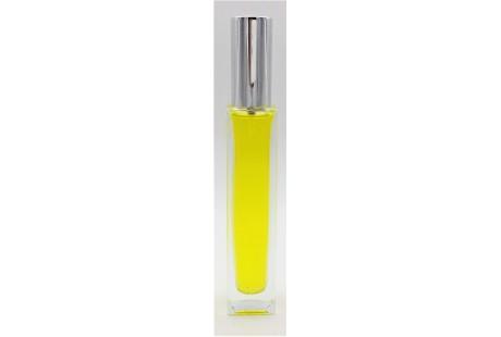 Frasco alto rellenable 30 ml con pulverizador incluido Plata