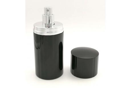 Frasco aluminio de Lujo Negro rellenable 100 ml